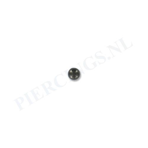 Balletje 1.2 mm zwart 3 mm