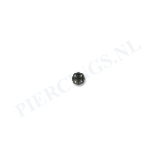Balletje 1.6 mm zwart 3 mm
