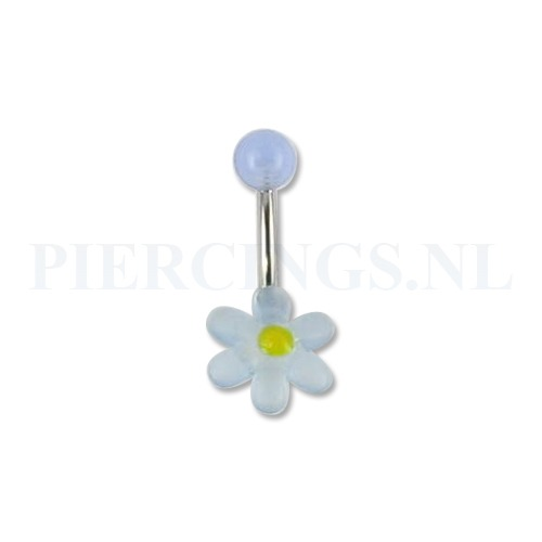 Op Fashion Plus [alles op het gebied van mode en fashion] is alles over sieraad te vinden: waaronder piercings en specifiek Navelpiercing acryl bloem lichtblauw-geel (Navelpiercing-acryl-bloem-lichtblauw-geel18124)