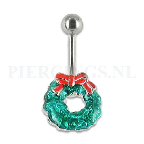 Op Penny Blossoms (fashionbabes vinden hier de beste online shops) is alles over sieraad te vinden: waaronder piercing en specifiek Navelpiercing kerst krans van de online shop piercings.nl