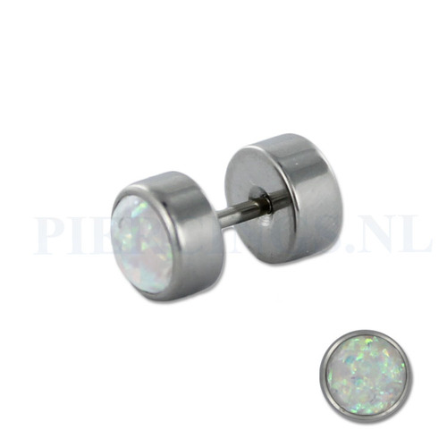 Nep plug opaal nep plugs