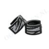 Oorhanger zwart zebra glinster