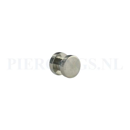 Plug hol met schoefdeksel 6 mm 6 mm